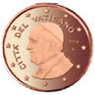 1 centime Euro Vatican