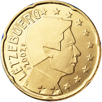 20 centimes Euro Luxembourg