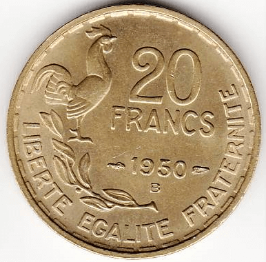 20 francs Georges Guiraud