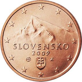2 centimes Euro Slovaquie