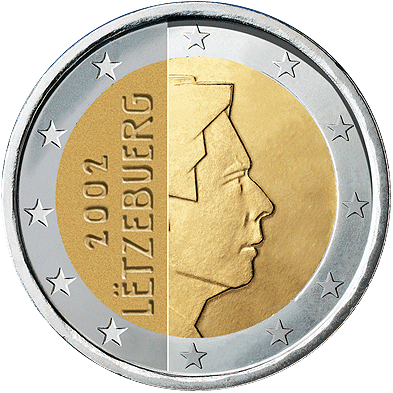 2 Euros Luxembourg