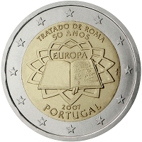 2 euros commémorative Portugal 2007