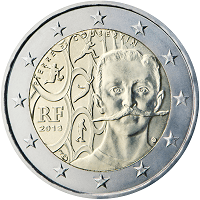 2 euros commémorative France 2013