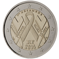 2 euros commémorative France 2014