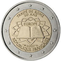 2 euros commémorative France 2007