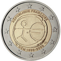 2 euros commémorative France 2009