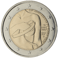 2 euros commémorative France 2017