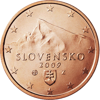 5 centimes Euro Slovaquie